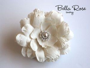 Bella Rose ivory flower