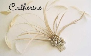 Catherine fascinator